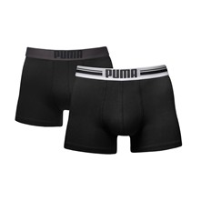 Placed logo - Pack de 2 boxers - noir