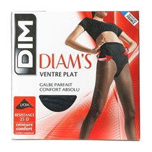 Diam's Ventre plat - Collant - noir