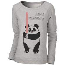 I'm a Pandawan - Sweat-shirt - gris clair
