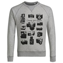 Appareils Photo Vintage - Sweat-shirt - gris clair