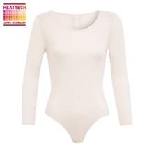 Inner Uniqlo Heattech - Body - blanc rose