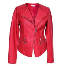 Oural - Blouson style biker - rouge