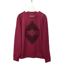 Ethnic - Sweat-shirt - blanc