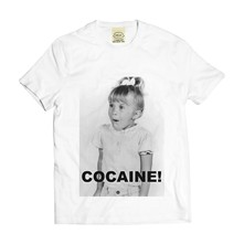 COCAINE - T-shirt - blanc