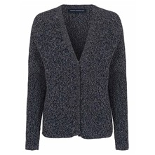 Naughty - Cardigan - denim noir