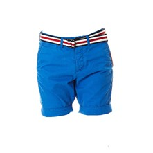 International - Short - bleu classique