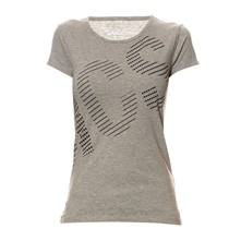 GRAPHIC SS TEE - T-shirt - gris chine