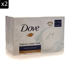 Beauty Cream Bar - Lot de 2 packs de 4 savons - 100 g