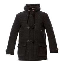 Duffle-coat - anthracite