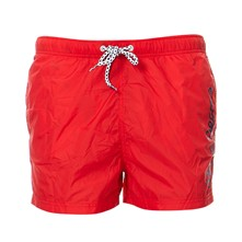 Akers - Short de bain - rouge