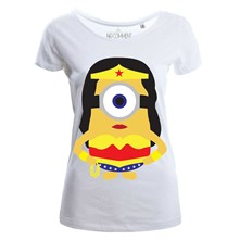 woman Minion - Top/tee-shirt - blanc