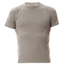 T-shirt col rond - gris