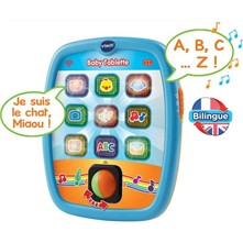 Baby Tablette bilingue - multicolore