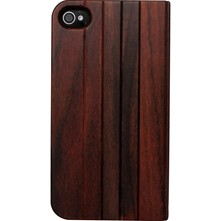 iPhone 4/4S - Coque en bois de rose - marron