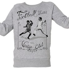 Football Vintage - Top/tee-shirt - gris chine