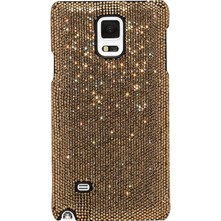 Samsung Galaxy Note 4 - Coque avec strass - or