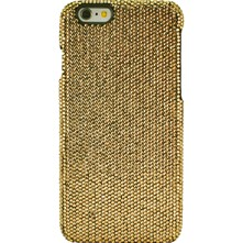 iPhone 6 - Coque avec strass - or