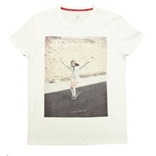 Flying Girl - T-shirt - blanc