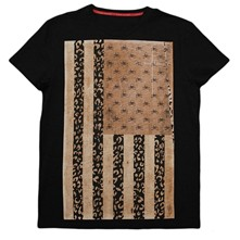 Flag - T-shirt - noir