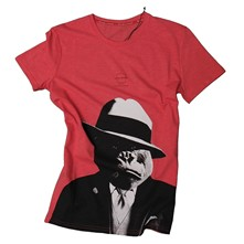 Capone - T-shirt - Rose rouge