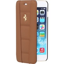 iPhone 6 Plus - Coque en cuir - beige