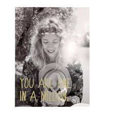You Are One In A Million - Affiche - gris