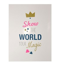 Show The World Your Magic - Affiche - blanc