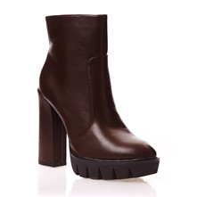 Bottines - marron