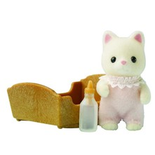 Sylvanian Family - Bébé chat - multicolore