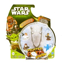 4 figurines star wars fighter pods + lanceur - Figurine - multicolore