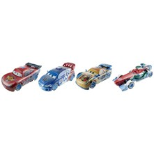 Cars ice Racers - Pack 4 véhicules - multicolore