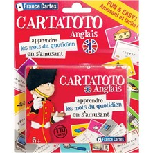 Cartatoto anglais - multicolore
