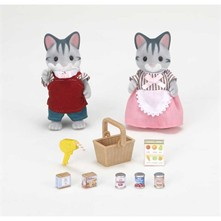 Sylvanian Family - Chat commercants - multicolore
