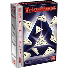 Triominos rectangulaire voyage - multicolore