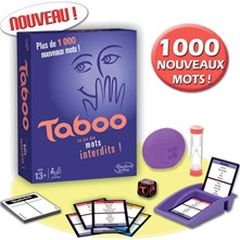 Taboo party game - multicolore