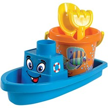 Bateau Garni Crazy Fish - multicolore