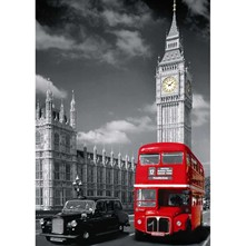 Londres - Puzzle - multicolore
