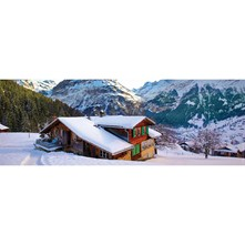 Chalet Alpes - Puzzle - multicolore
