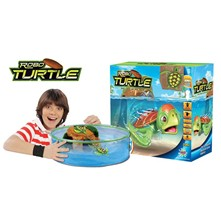 Aquarium robo tortue - multicolore