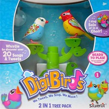 Arbre + 2 Digibirds - multicolore