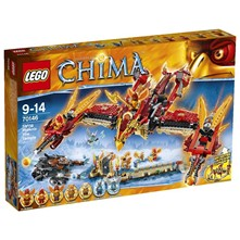 Chima - Temple de feu - multicolore