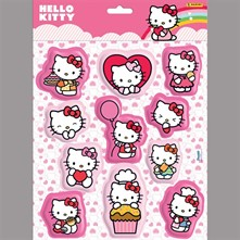 Hello Kitty - Stickers - multicolore