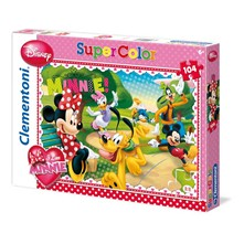 Puzzle 104 pièces minnie nice afternoon - Puzzle - multicolore
