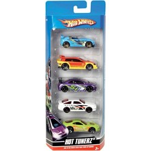 Coffret 5 voitures Hot Wheels - Voiture - multicolore