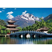 Puzzle  Paysage Chine - multicolore