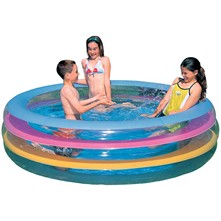 Piscine gonflable - multicolore