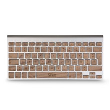 Walnut - Touches clavier sans fil - marron