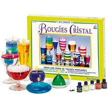 Kit de bougies cristal - multicolore