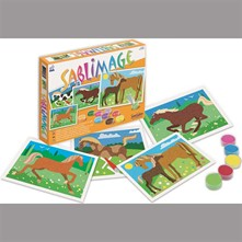 Sablimage chevaux - multicolore