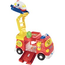 Mon super camions de pompiers - Voiture/train/circuit - multicolore